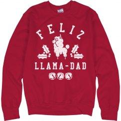 Feliz Llama-dad