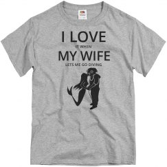 Love wife, love diving
