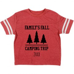 Family Fall Camping Trip