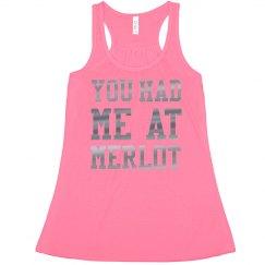 Metallic You Had Me at Merlot Crop