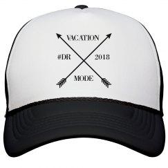 VACATION ARROW BLK/BLK HAT