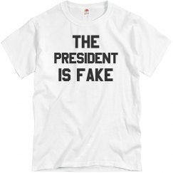 The President Is Fake Trump