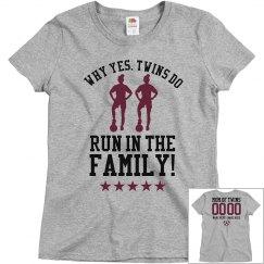 Soccer Mom to Soccer Twins Custom Shirt