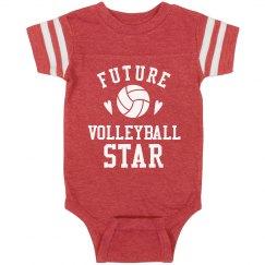 Future Volleyball Star Onesie