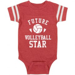 Future Volleyball Star Onesie