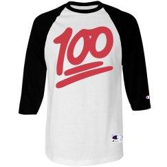 Keep It 100 Raglan