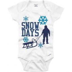 Snow Days Onesie