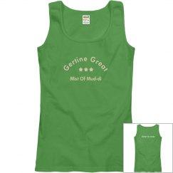 Gertine Gym Black Uniform Sleeveless Top