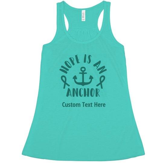 46850efed6e Hope For Ovarian Cancer Shirt