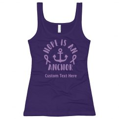 Pancreatic Cancer Anchor Support