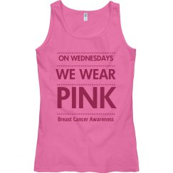 Pink Ribbon Wednesday