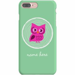 Cute Owl Custom iPhone Case