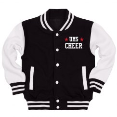 Custom School & Name Cheer Jacket