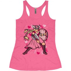 Pink Viking Tank Top