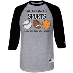 All I Care About-Sports