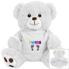 Twins Bear Cuddly Toy