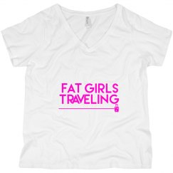 FGT Pink Luggage V Neck