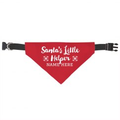 Santa's Little Helper Dog Scarf