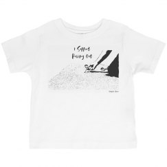 I Support Pulling Out - Toddler- Jersey Crew Neck Tee