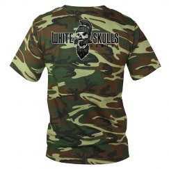 White Skulls Gaming Basic Camo T-Shirt