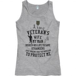 Veteran's Wife My Man...