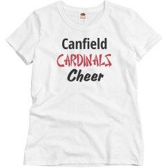 Cardinals cheer shirt