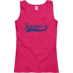 Jeuness Pink Tank Top