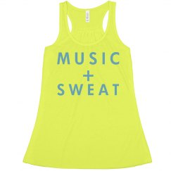 Music + Sweat + Neon