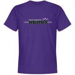 Basic Purple Remix Tee
