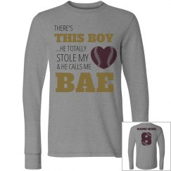 Stolen Heart Baseball Girlfriend