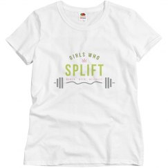 Girls Who Splift Barbell Tee