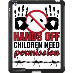 Hands Off iPad Case