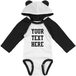 Custom Your Text Here Baby With Ears