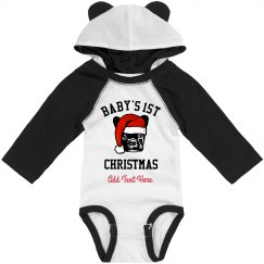 Custom Baby's First Xmas With Dog