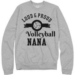 Loud Proud Volleyball Nana