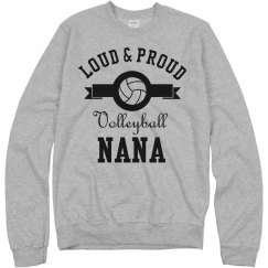 Loud Proud Volleyball Nana