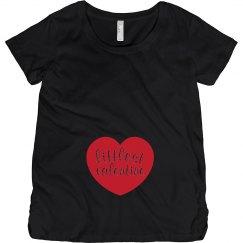Littlest Valentine Maternity Shirt