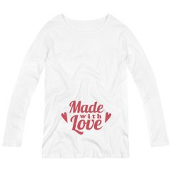 Valentine Made With Love Maternity