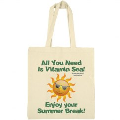 Summer Tote Bag - Sea