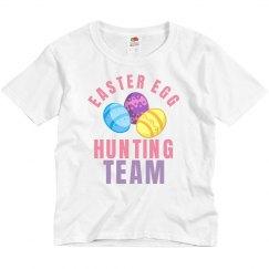 Easter Egg Hunting Team