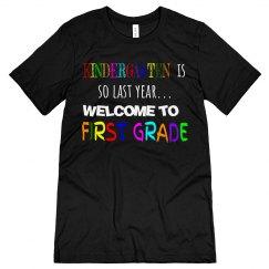 Kindergarten First Grade