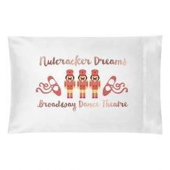 Nutcracker Pillow Case