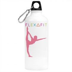 FLEXAFIT WHITE WATER BOTTLE