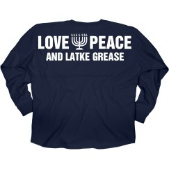 Love, Peace, Latke Grease