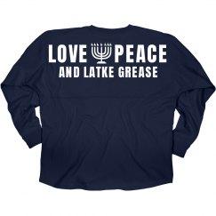 Love, Peace, Latke Grease