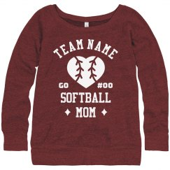 Custom Team Certified Softball Mom