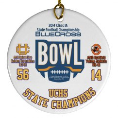 2014 State Ornament