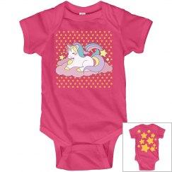 Pink Unicorn Baby