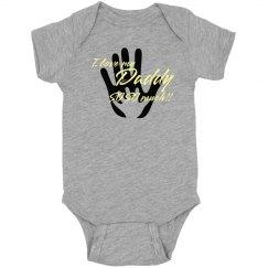 Baby onesie love daddy