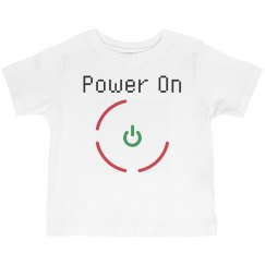 Power On UNISEX Toddler Tee